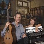 Christian Gruber, Gitarre Maria Reiter, Akkordeon